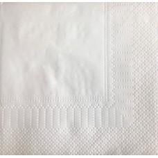 Салфетки белые 24ф-2сл-250л рамочное тиснение